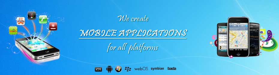 Mobile app development for IPhone,Android, Blackberry and windows phones